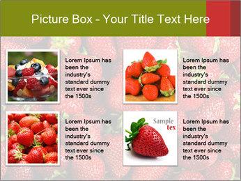 Sweet Strawberries PowerPoint Template - Slide 14