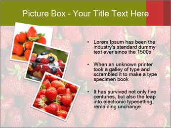 Sweet Strawberries PowerPoint Template - Slide 17