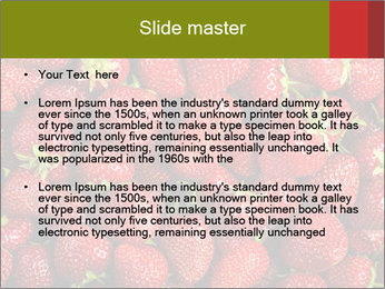 Sweet Strawberries PowerPoint Template - Slide 2