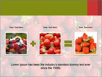 Sweet Strawberries PowerPoint Template - Slide 22