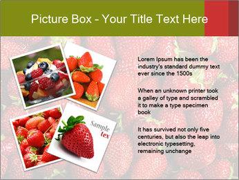 Sweet Strawberries PowerPoint Template - Slide 23