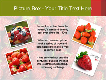 Sweet Strawberries PowerPoint Template - Slide 24