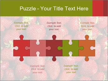 Sweet Strawberries PowerPoint Template - Slide 41