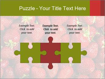 Sweet Strawberries PowerPoint Template - Slide 42