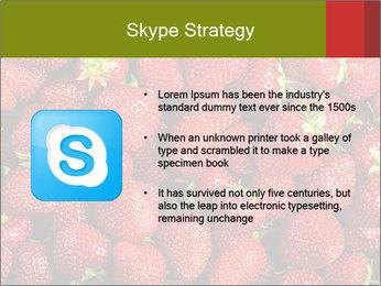 Sweet Strawberries PowerPoint Template - Slide 8