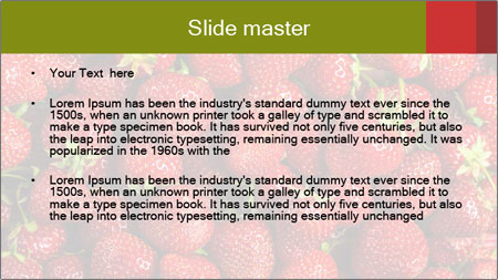 Sweet Strawberries PowerPoint Template - Slide 2