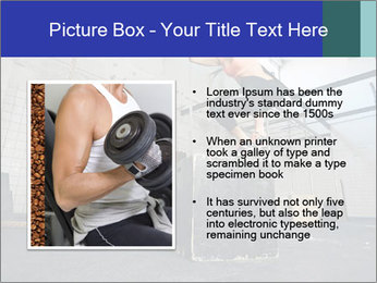 Woman In Fitness Studio PowerPoint Template - Slide 13