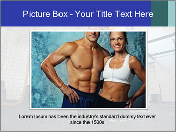Woman In Fitness Studio PowerPoint Template - Slide 15