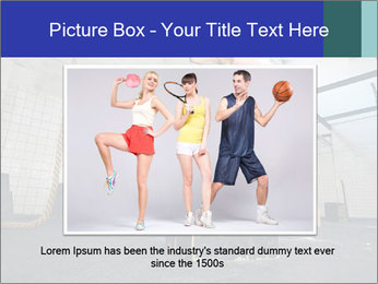 Woman In Fitness Studio PowerPoint Template - Slide 16