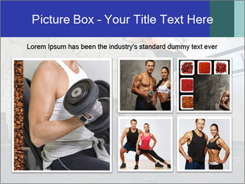 Woman In Fitness Studio PowerPoint Template - Slide 19