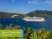 Coastline Yacht Tour PowerPoint Template
