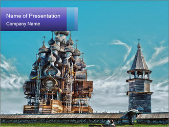 Church Reconstruction PowerPoint Template