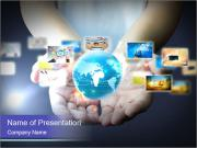 World Communication PowerPoint Template