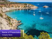 Ibiza View PowerPoint Template