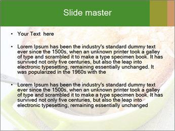 Apple Cake PowerPoint Template - Slide 2