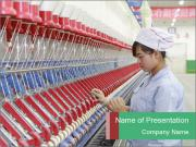 Asian Factory PowerPoint Template