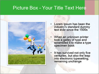 Father Playing With Son PowerPoint Template - Slide 13