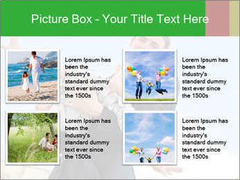 Father Playing With Son PowerPoint Template - Slide 14