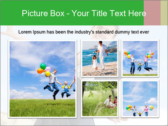 Father Playing With Son PowerPoint Template - Slide 19