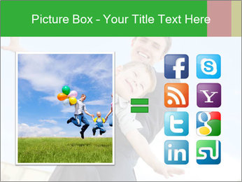 Father Playing With Son PowerPoint Template - Slide 21