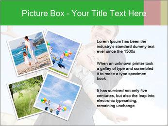 Father Playing With Son PowerPoint Template - Slide 23