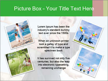 Father Playing With Son PowerPoint Template - Slide 24
