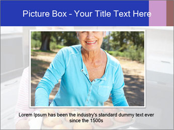 Grandmother Baking Cupcakes PowerPoint Template - Slide 15
