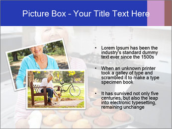 Grandmother Baking Cupcakes PowerPoint Template - Slide 20