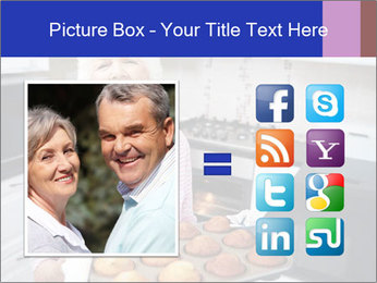 Grandmother Baking Cupcakes PowerPoint Template - Slide 21