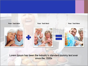 Grandmother Baking Cupcakes PowerPoint Template - Slide 22