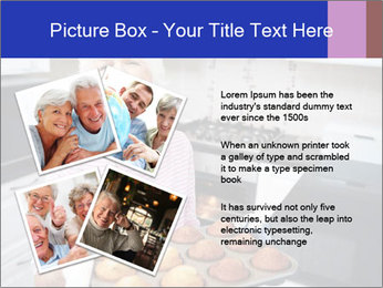 Grandmother Baking Cupcakes PowerPoint Template - Slide 23