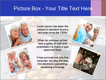 Grandmother Baking Cupcakes PowerPoint Template - Slide 24
