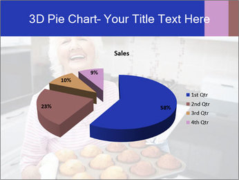 Grandmother Baking Cupcakes PowerPoint Template - Slide 35