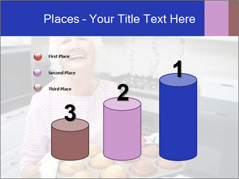 Grandmother Baking Cupcakes PowerPoint Template - Slide 65