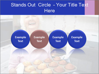 Grandmother Baking Cupcakes PowerPoint Template - Slide 76