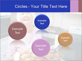 Grandmother Baking Cupcakes PowerPoint Template - Slide 77