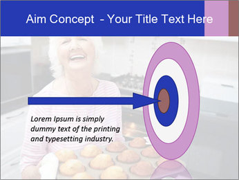 Grandmother Baking Cupcakes PowerPoint Template - Slide 83