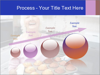 Grandmother Baking Cupcakes PowerPoint Template - Slide 87