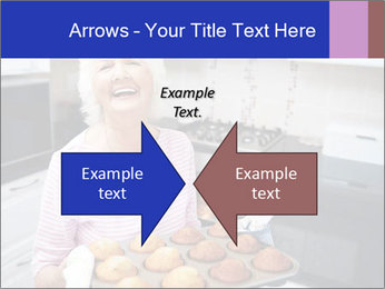 Grandmother Baking Cupcakes PowerPoint Template - Slide 90
