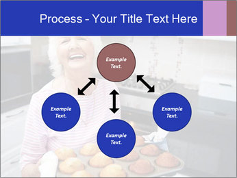 Grandmother Baking Cupcakes PowerPoint Template - Slide 91