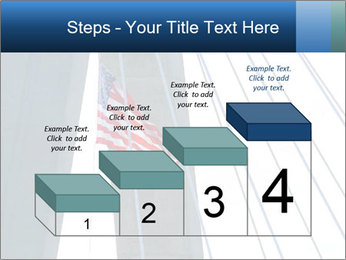 Bridge And American Flag PowerPoint Template - Slide 64