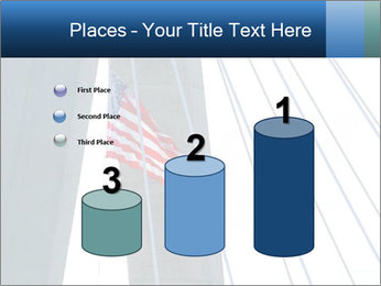 Bridge And American Flag PowerPoint Template - Slide 65