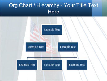 Bridge And American Flag PowerPoint Template - Slide 66