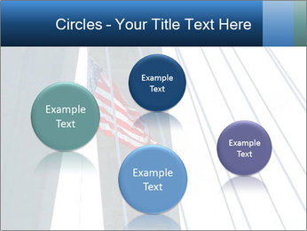 Bridge And American Flag PowerPoint Template - Slide 77