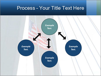 Bridge And American Flag PowerPoint Template - Slide 91
