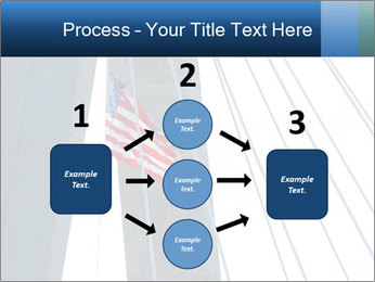 Bridge And American Flag PowerPoint Template - Slide 92