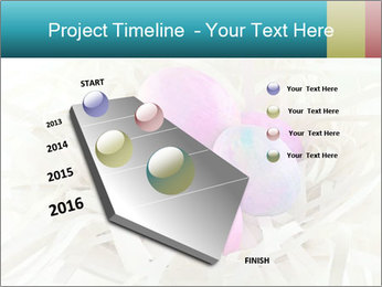 Pink And Blue Easter Eggs PowerPoint Template - Slide 26