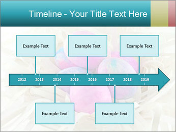 Pink And Blue Easter Eggs PowerPoint Template - Slide 28