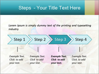 Pink And Blue Easter Eggs PowerPoint Template - Slide 4
