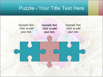 Pink And Blue Easter Eggs PowerPoint Template - Slide 42